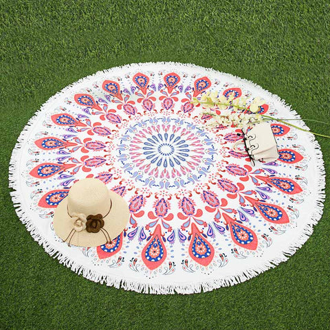 Lost in Paradise Microfiber Beach Throw