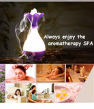Air Humidifier and Ultrasonic Aromatherapy Essential Oil Aroma Diffuser with LED Night Light