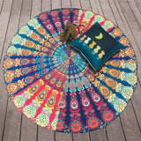 Indian Mandala Blanket,  Wall Hanging, Beach Throw, Towel, Yoga Mat