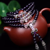 Tibetan Buddhist 108 Prayer Mala Necklace