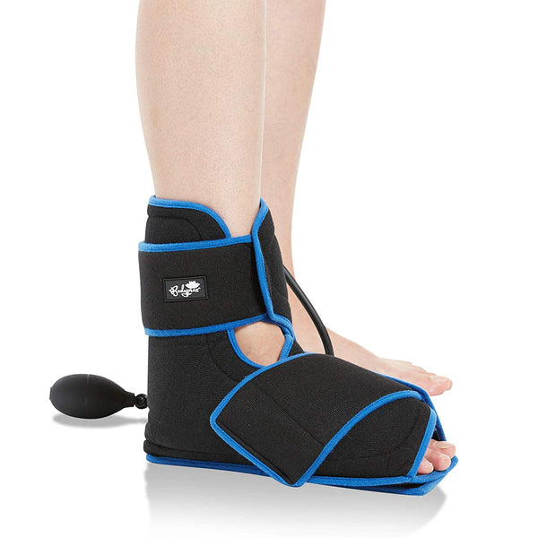 Bodyprox Ankle Ice Pack Injuries, Hot & Cold Air Compression Ankle Brace Support, Helps Stabilize Relieve Achilles Tendon Pain, Ankle Sprains, Arthritis, Joint Pain Sports Injury