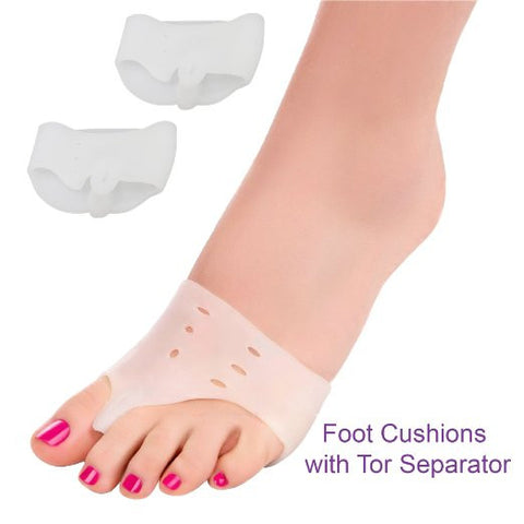 Bodyprox Bunion Relief Kit (12 pcs) - Treat Pain in Big Toe Joint, Tailors Bunion.