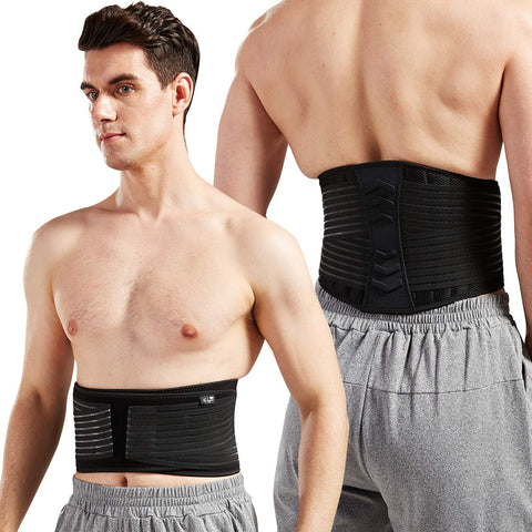 Lumbar Support Back Brace for Men and Women