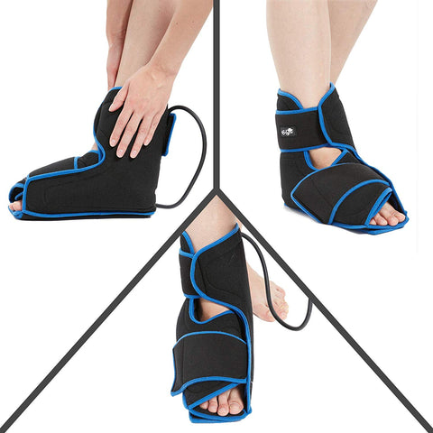 Bodyprox Ankle Ice Pack Injuries, Hot & Cold Air Compression Ankle Brace Support