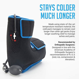Ankle Brace Hot & Cold Air Compression