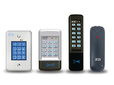 Four access control devices