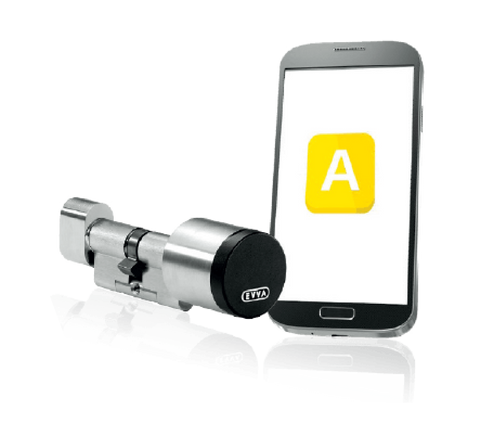 An airkey device and a smart phone with a related app to operate it