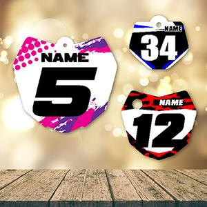 Personalized Number Plate Accessories