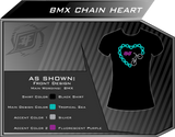 BMX Chain Heart Shirt