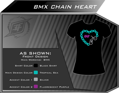 ATV Chain Heart Shirt
