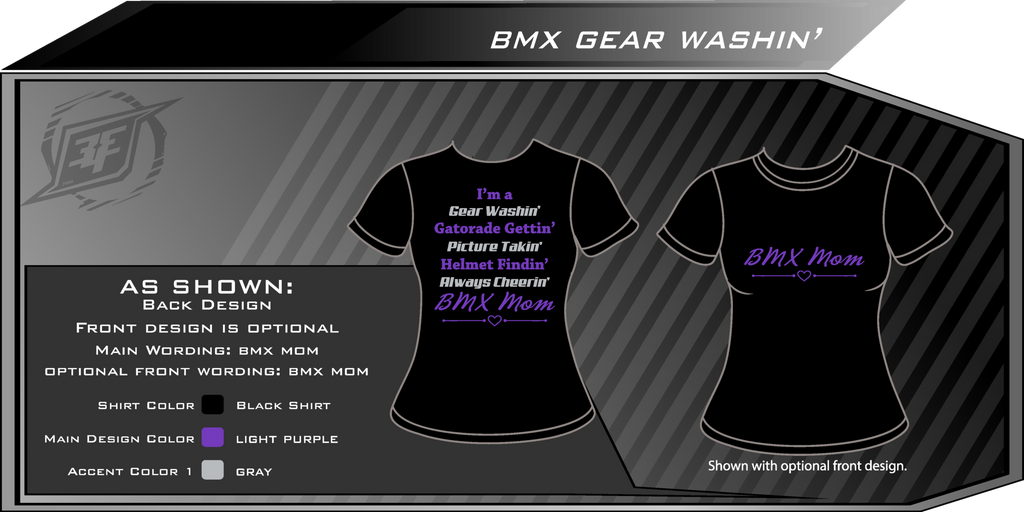 BMX Gear Washin' Shirt