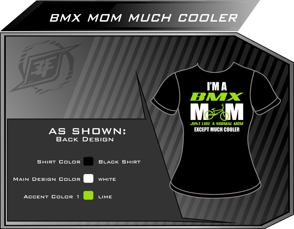 BMX Mom Much Cooler