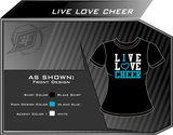 Live Love Cheer Shirt
