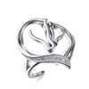 Sterling Silver Horse Affinity Ring