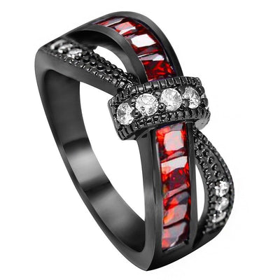 Hot! Crystal Alliance Ring