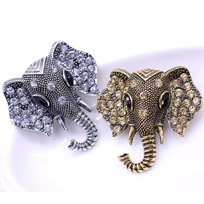 Elephant Spirit Brooch