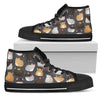 Rat Lover High & Low Canvas Shoes
