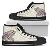 Chameleon High-Top Canvas Shoes