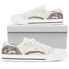 Snake Lover High & Low Canvas Shoes