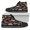 Dachshund High and Low Canvas Shoes