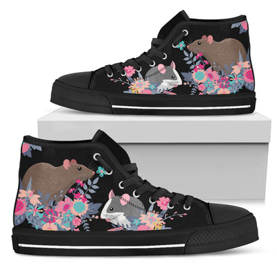 Rat Paradise High & Low Canvas Shoes