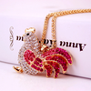 Dazzling Chicken Necklace