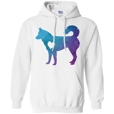 Watercolor Husky Shirts & Hoodies