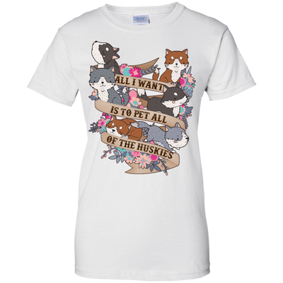 Pet All Of The Huskies Shirts & Hoodies