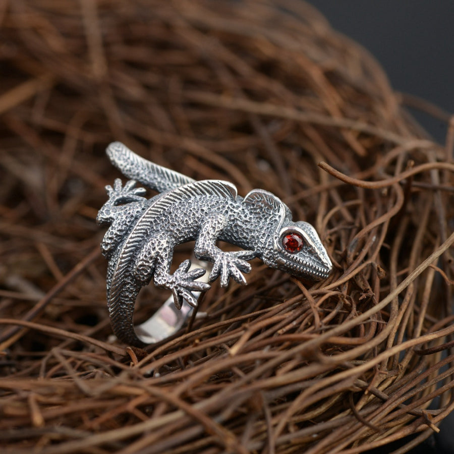 rings amazon lizard gecko ring silver jewelry com dp sterling
