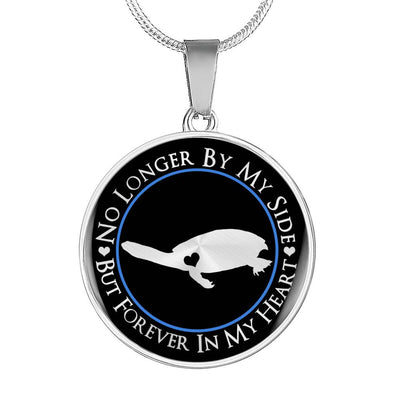 Long-Necked Turtle Forever In My Heart Necklace