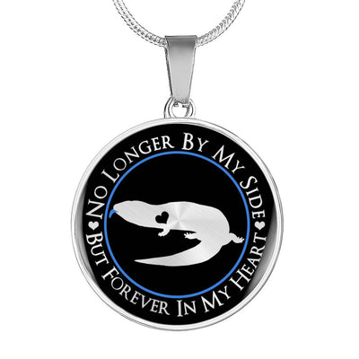 Blue-Tongued Lizard Forever In My Heart Necklace