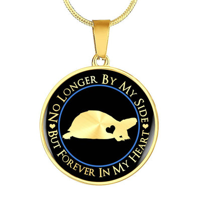 Box Turtle Forever In My Heart Necklace