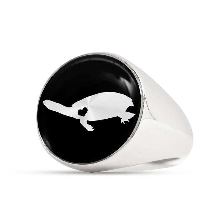 Adore Long-Necked Turtle Ring