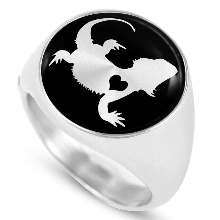 Adore Bearded Dragon Ring