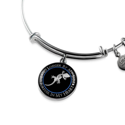 Crested Gecko Forever In My Heart Luxury Bangle
