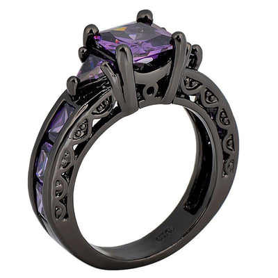 Black Gold-filled Countess Ring