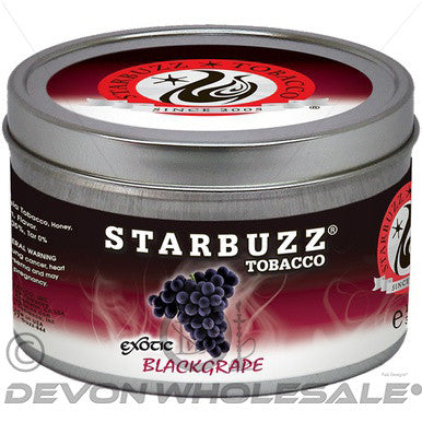 StarBuzz BlackGrape - DevonWholesale