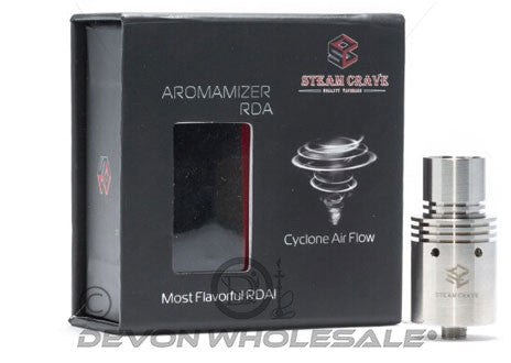 Steam Crave Atomizer RDA - DevonWholesale