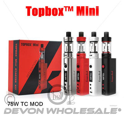 KangerTech Top Box Mini 75 W  Starter kit - DevonWholesale