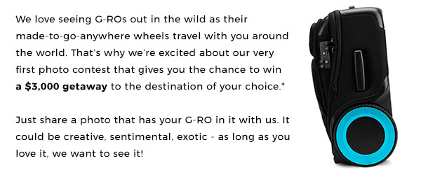 G-RO Wheels Around the World Contest Description