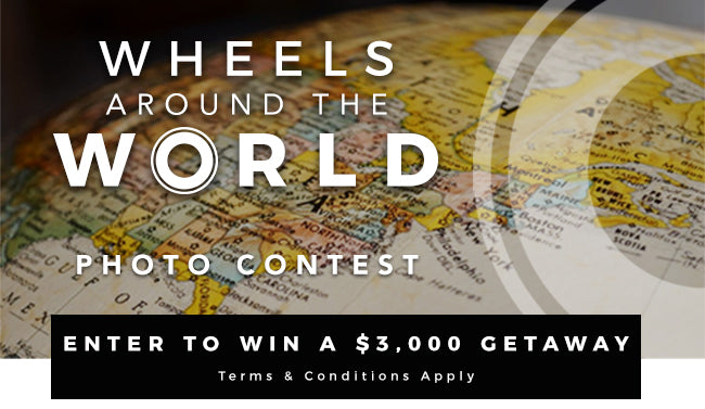G-RO Wheels Around the World Photo Contest