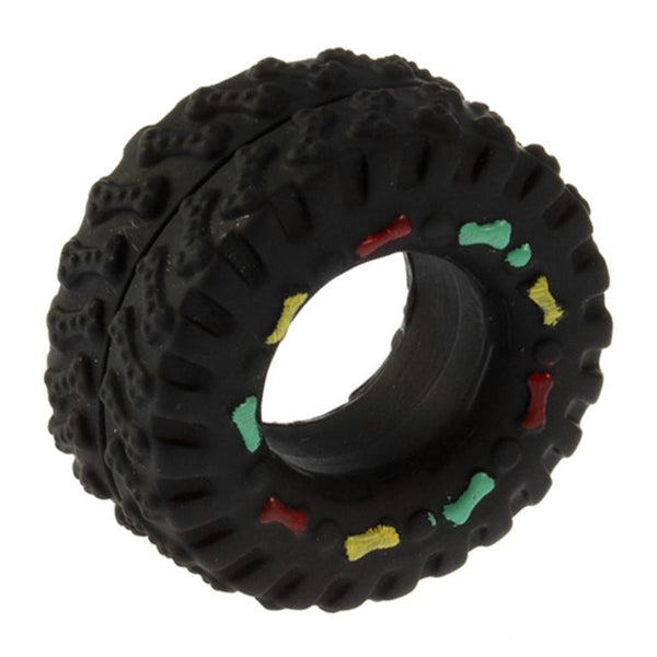 Rubber Tire Squeak Toy