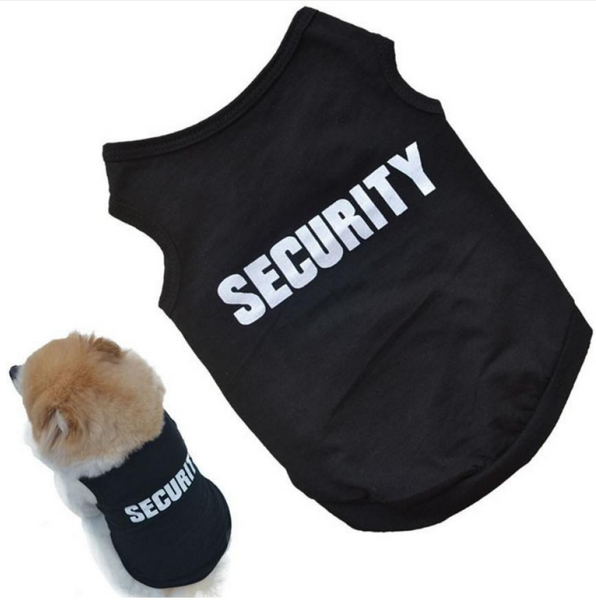 Small Dog Security T-Shirt