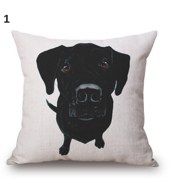 Friendly Paw Sofa Pillow Case Covers