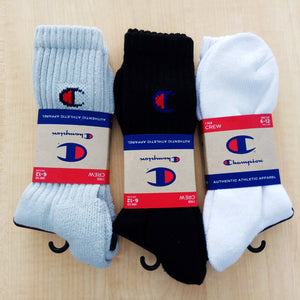 Champion Crew C Logo Socks