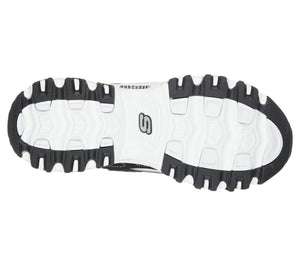 SKECHERS - D'LITES - BIGGEST FAN BLACK/WHITE