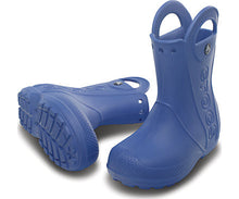 Load image into Gallery viewer, Crocs - Kids' Handle It Rain Boot Sea Blue