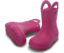 Load image into Gallery viewer, Crocs - Kids' Handle It Rain Boot Fuchsia