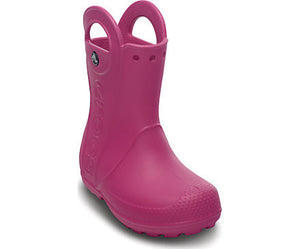 Crocs - Kids' Handle It Rain Boot Fuchsia