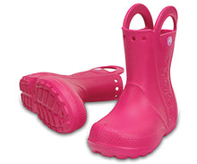 Load image into Gallery viewer, Crocs - Kids' Handle It Rain Boot Candy Pink